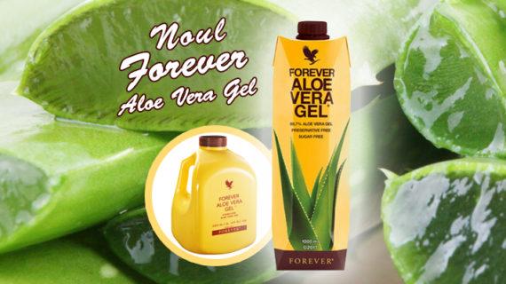 Noul Gel Aloe Vera cu 99,7% puritate