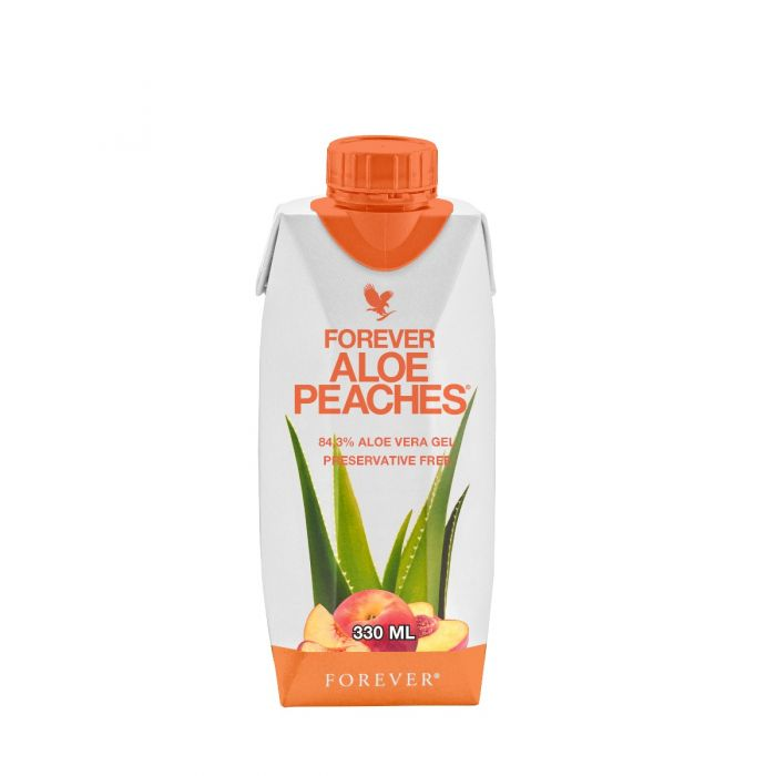 aloe peaches 330ml